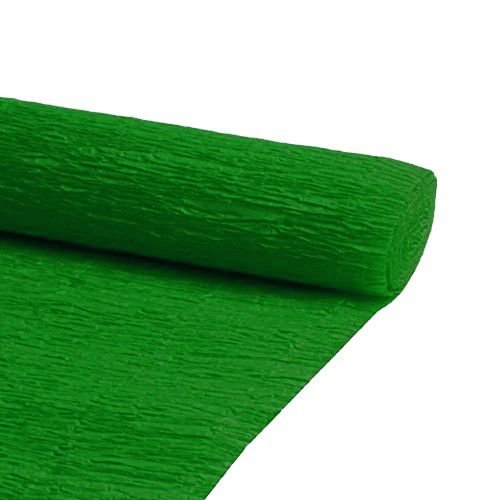 PAPEL CREPOM 48X2MTS C/10 VERDE BANDEIRA