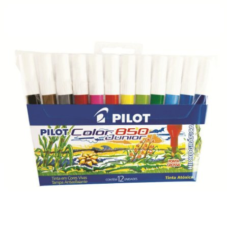 PINCEL HIDROGRAFICO PILOT COLOR 850 C/12
