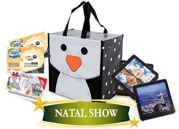 CESTA DE NATAL NATAL SHOW 24 ITENS + 3 BRINDES