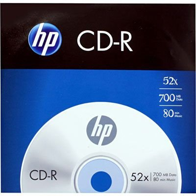 CD-R GRAVAVEL 700MB ENVELOPE HP