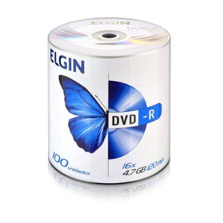 DVD-R GRAVAVEL PINO C/100 ELGIN