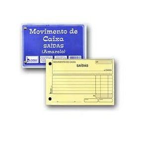 BLOCO MOVIMENTO CAIXA SAIDA 95FLS C/10BL