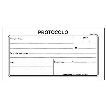 BLOCO PROTOCOLO CORRESP. 95FLS