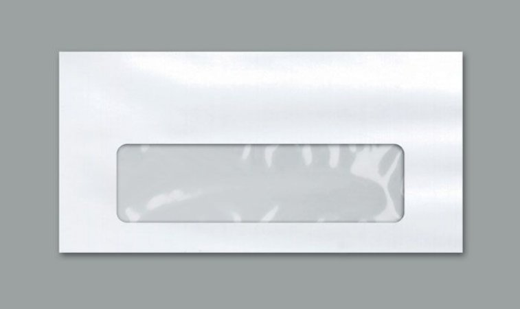 ENVELOPE OF VISOR BC 114X229 C/1000 COF48