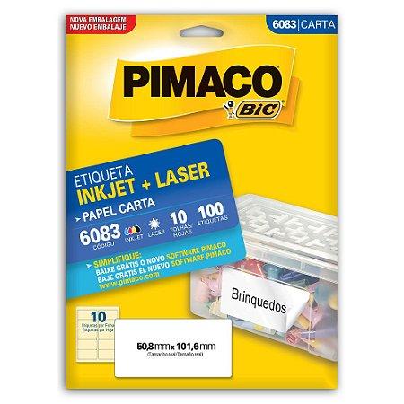 ETIQUETA 6083 50X101 C/100 PIMACO