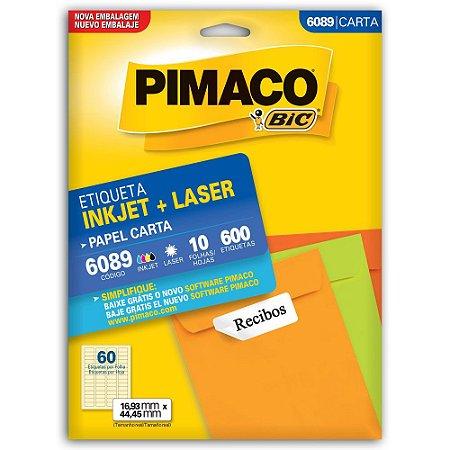 ETIQUETA 6089 16X44 C/600 PIMACO