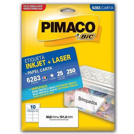 ETIQUETA 6283 50X101 C/250 PIMACO