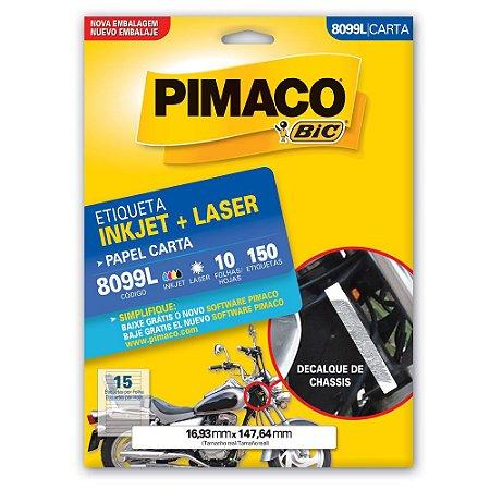 ETIQUETA 8099L 16X147 C/150 PIMACO