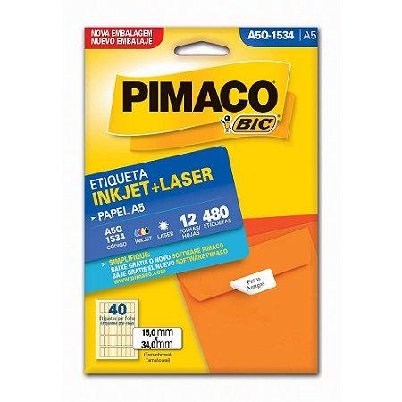 ETIQUETA A5Q-1534 15X34 C/480 PIMACO