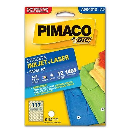 ETIQUETA A5R-1313 13MM C/1404 PIMACO