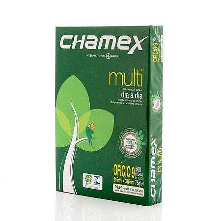 PAPEL OF9 75G 215X315 C/500FLS CHAMEX