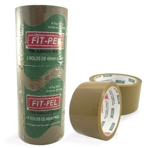 FITA EMP. PP 48X40 MARRON FITPEL C/01