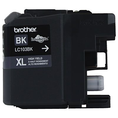 CARTUCHO BROTHER LC103BK PRETO