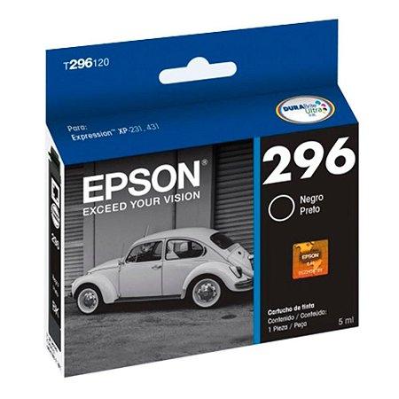 CARTUCHO EPSON T296120AL PRETO