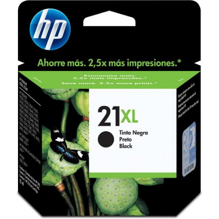 CARTUCHO HP 21XL C9351CB C/12ML PRETO