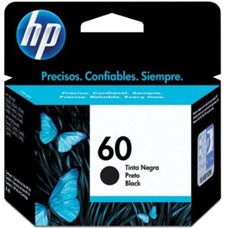 CARTUCHO HP 60 CC640WB C/04ML PRETO