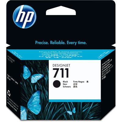 CARTUCHO HP 711 CZ133A PRETO C/80ML