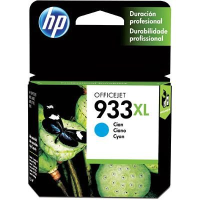 CARTUCHO HP 933XL CN054AL CYANO C/8,5ML