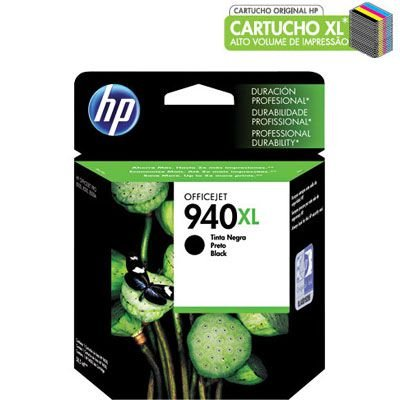 CARTUCHO HP 940XL C4906AL PRETO C/59,5ML