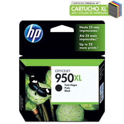 CARTUCHO HP 950XL CN045AL PRETO C/57,5ML