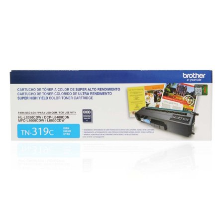 TONER BROTHER TN-319C CIANO P/6000PGS