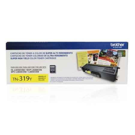 TONER BROTHER TN-319Y AMARELO P/6000PGS