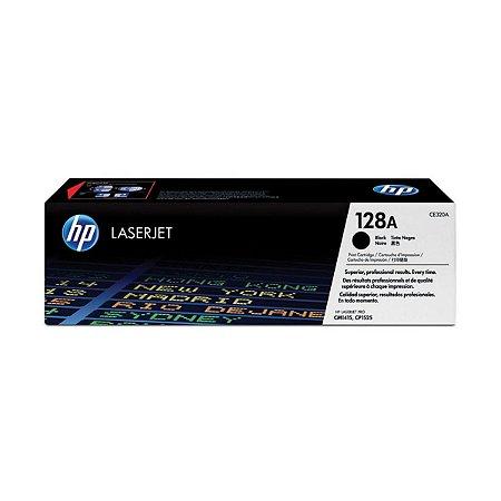 TONER HP 128 CE320A PRETO P/CP1525