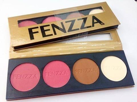 Paleta de Blushes c/ 4 tons Fenzza
