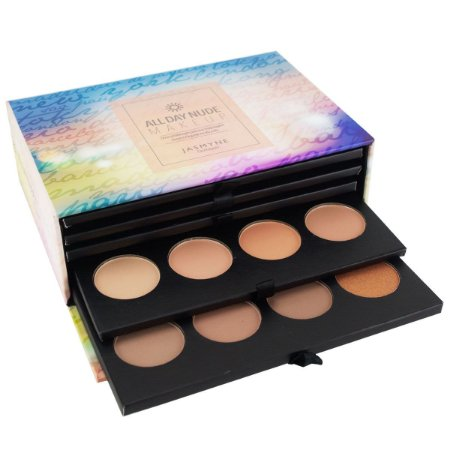 Kit de Paletas de Maquiagem All Day Nude Jasmyne