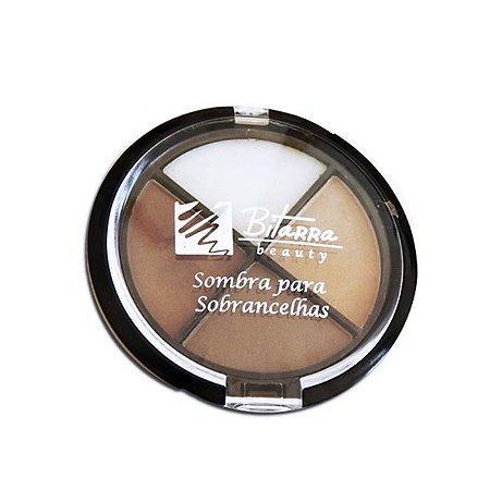 Quarteto de Sombras para Sombrancelhas 4x1 Bitarra Beauty