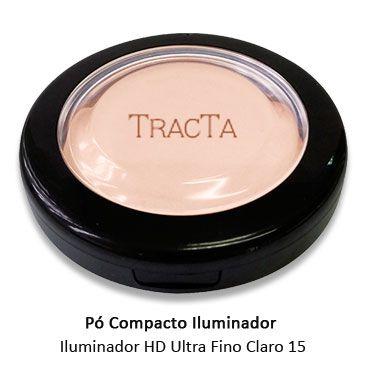 Pó Compacto Iluminador HD Ultrafino Tracta