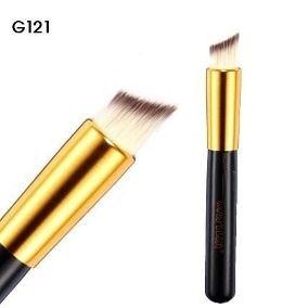 Pincel para Base Kabuki Chanfrado Linha Gold G121 Macrilan