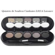 Quinteto de Sombras cores essenciais cintilantes Luisance