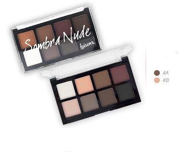 Paleta de Sombras Nude 8 Cores Luisance