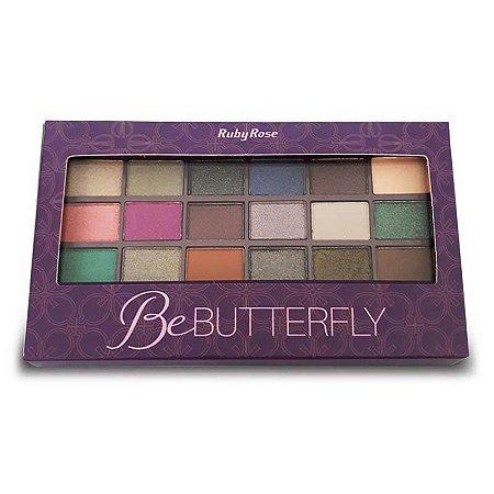 Paleta de Sombras Be Butterfly Ruby Rose