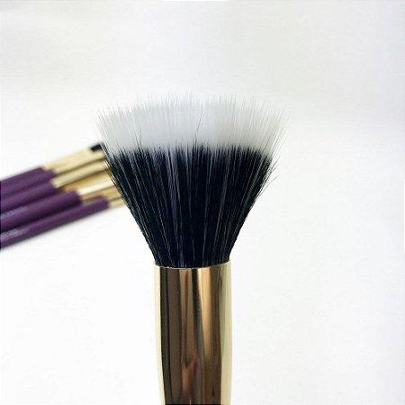 Pincel de Maquiagem Duo Fiber Linha Tech Studio Playboy
