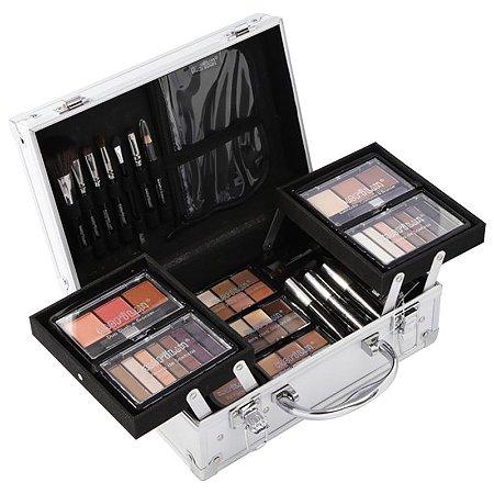 Maleta com Kit completo de Maquiagem e Pincéis ML2-2M Macrilan