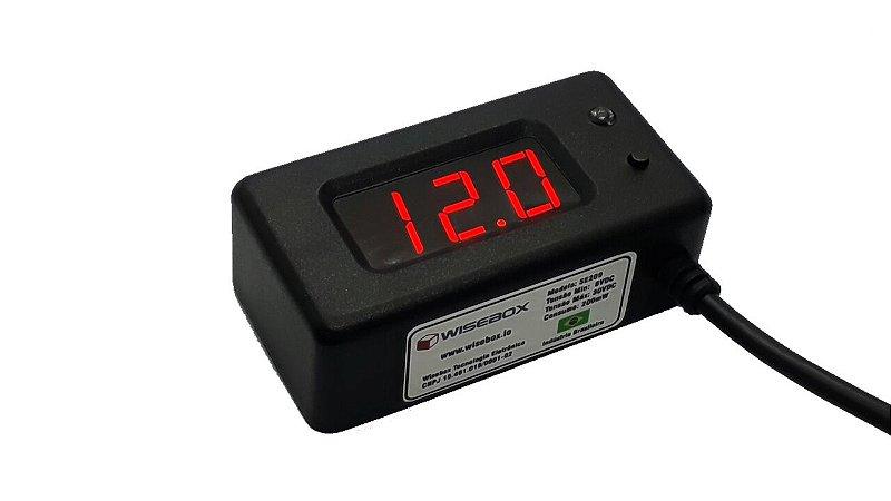 Voltímetro Digital SE209 - Versão 12V