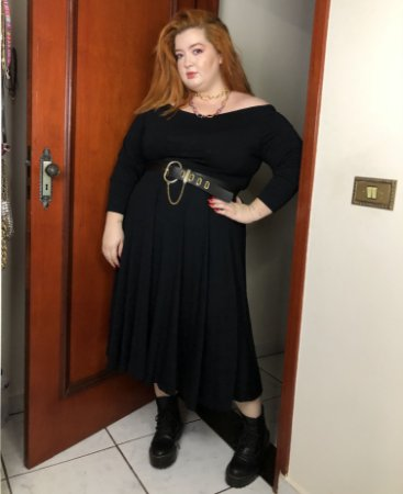 Vestido Duda Preto