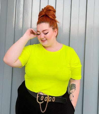 Blusa Diana Amarelo
