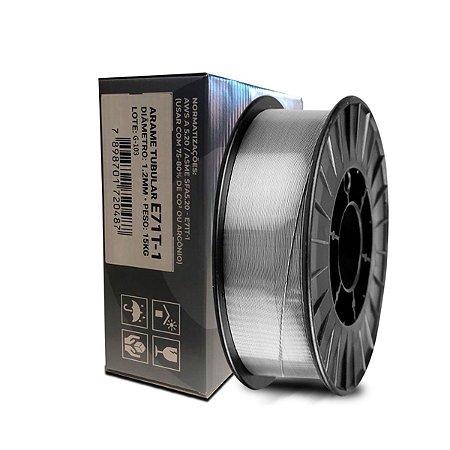 Arame de Solda Revestido Para Uso Sem Gás - E71T-1 - 1.2MM - 15KG