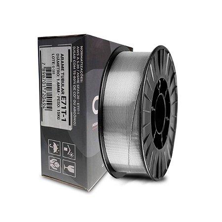 Arame de Solda Revestido Para Uso Sem Gás - E71T-1 - 1.6MM - 15KG