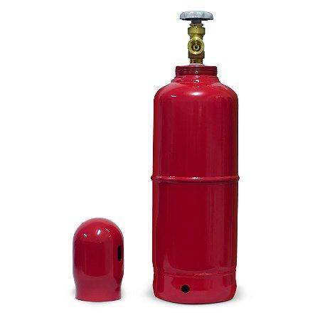 Cilindro para Gás Acetileno 7,6L / 1Kg - BRAX
