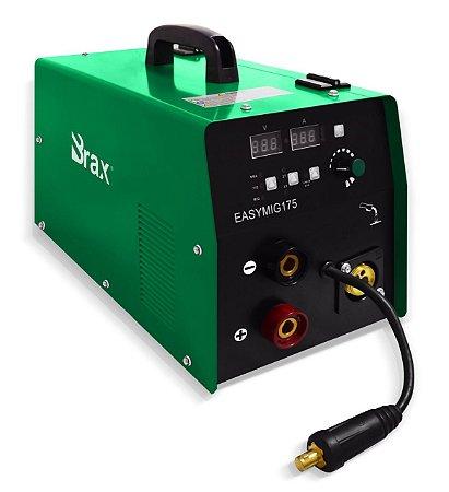 Máquina de Solda Inversora Easymig 175a - 220v - Brax - Trabalha com arames com e sem gás MIG/MAG