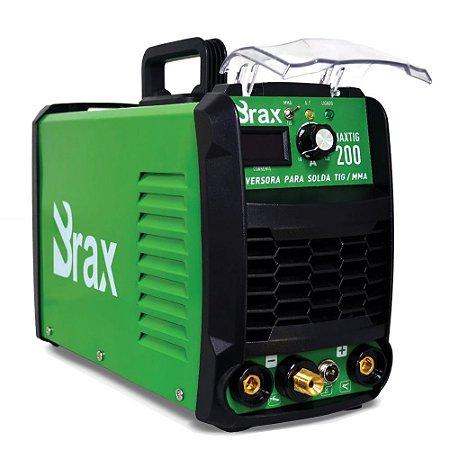 Máquina de solda Inversora Max Tig 200a - Bivolt Automática - Brax - 3ª Geração