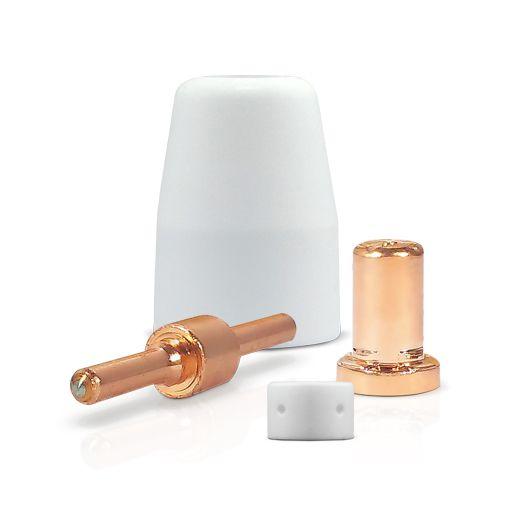 Kit De Consumíveis Corte Plasma Para Tocha Pt-31 - 48 Peças