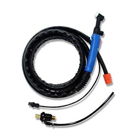 Tocha TIG WP-17v Universal Com Conector De 13 mm - Brax