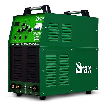 Máquina De Solda Tig Ac/dc 400a 220v + Tocha Refrigerada - Brax