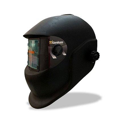 Máscara de Solda Com Regulagem de 9 a 13 - Titanium