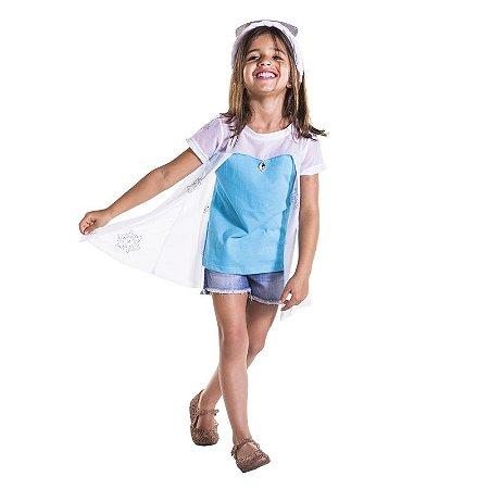Camiseta Infantil Rainha do Gelo